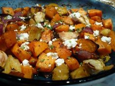 Feta, Sweet Potato, Potato Salad, Paleo, Potatoes, Vegetables, Health, Ethnic Recipes, Health Care