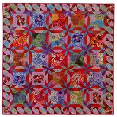 "Glorious Color - quilt fabric and kits from ""Museum Quilts"