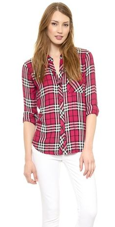 RAILS Hunter Long Sleeve Button Down | SHOPBOP SAVE 25% use Code:FAMILY25