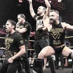 4 Hammers in a world of nails. This is our ERA. Bobby Fish, Wwe Raw And Smackdown, Cody Rhodes, Adam Cole, Wwe Tna, Wwe Wallpapers, Aj Styles, Wwe Photos, Professional Wrestling