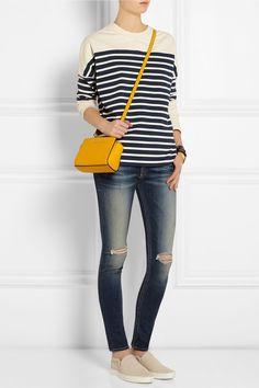 MICHAEL Michael Kors | Selma mini textured-leather shoulder bag | NET-A-PORTER.COM