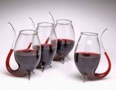 Awesome wine glasses