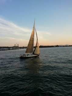 Sailing in Maine 2012