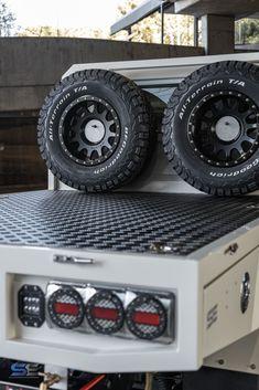 Custom Ute Trays, Landcruiser Ute, Toyota 4x4, X Car, Car Mods, Ford Ranger, Custom Trucks, Toyota Land Cruiser, Engineering