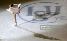 Figure skater Evgenia Medvedeva of Russia performs during the exhibition gala event at the 2017 ISU World Figure Skating Championships at Hartwall Arena. Alexander Demianchuk/TASS