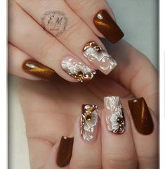 Hot Trendy Nail Art Designs that You Will Love Fancy Nails, Cute Nails, My Nails, Fingernail Designs, Nail Art Designs, Nails Design, Beautiful Nail Designs, Beautiful Nail Art, Fabulous Nails