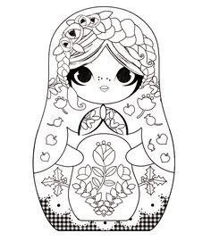 MINIDOLL: MATRIOCHKA  Russian doll