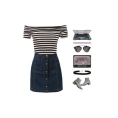 """""""I Won't Forget Too Soon"""" by ana-valery22 ❤ liked on Polyvore featuring LE3NO, NARS Cosmetics, Yves Saint Laurent, Vanessa Mooney and Christian Dior"""