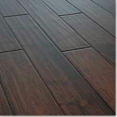Dark stained white oak | house style | Hardwood floor ...