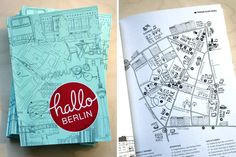 Wonderful booklet designed by small caps and basteltüte.