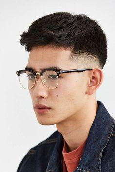 Slide View: 2: Half-Frame Readers Half Frame Glasses, Mens Glasses Frames, Asian Glasses, Eye Glasses, Asian Male Model, Pleasing People, Glasses For Your Face Shape, Androgynous Hair, Men Eyeglasses