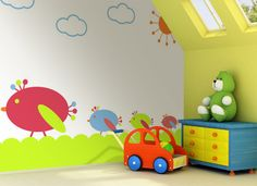 Cute wall mural for your babies and toddlers!  Avail many discounts from InkShuffle for customized wall murals, wall decals, canvas wraps and art! http://www.inkshuffle.com/  Use Code: ink72 to get $35 discount for mural products Use Code: light23 to get $35 discount for Iluma products plus FREE shipping!