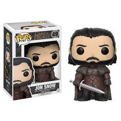 (affiliate link) Game of Thrones Jon Snow Pop! Vinyl Figure
