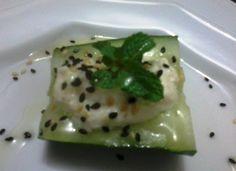 Ângela Bastos: Salada de Pepino com Queijo Cottage