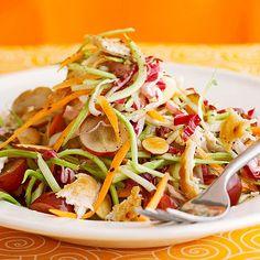 Turkey-Broccoli Salad with Grapes