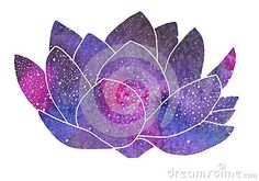 Galaxy Lotus. Hand-drawn Cosmic Flower - Download From Over 45 Million High Quality Stock Photos, Images, Vectors. Sign up for FREE today. Image: 60240735