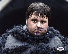 John Bradley Game of Thrones Samwell Signed Autographed 8x10 Photo PSA/DNA Certified Authentic COA