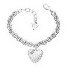 Pulsera  Guess Glossy Hearts OUTLET  UBB51440