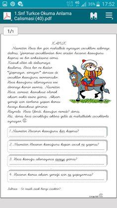 Turkish Language, Grade 1, Education, Onderwijs, Learning
