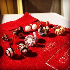 Nausnice murrina!!!✨✨✨ #murano #murrina #earrings #italian #style #czechgirl #brno #like ✨