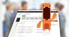Nice Orange little monster :-) from Hypos CRM