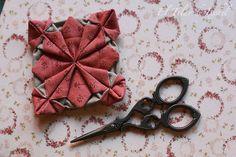 Tutorial - Flor de origami