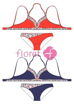Lingerie- Flat Sketches to First Fits! on Behance