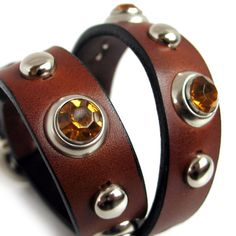 EcoFriendly Leather Dog Collar Chocolate Brown by Greenbelts, $38.00