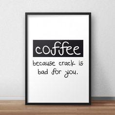 Plakat w ramie Coffee littlethings.pl  #coffee #plakat #poster #kawa #design