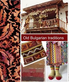 The Old Bulgarian traditions inspired in colors Bulgarian, Folk Art, Old Things, Fabrics, Textiles, Traditional, Inspired, Colors, Classic