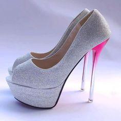Love the pinkish heel