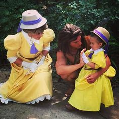 This Mom Makes Adorable Costumes For Her Daughter To Wear To Disney World