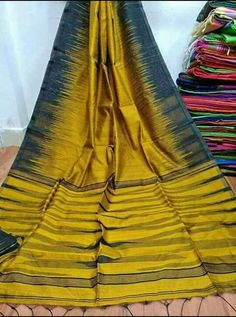 Ikkat Handloom Cotton Silk Sarees With Blouse Piece Orange Blouse, Grey Blouse, Handloom Saree, Georgette Sarees, Cotton Sarees Online, Indian Designer Sarees, Fancy Sarees, Printed Sarees, Cotton Silk
