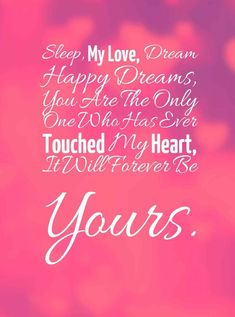 Romantic Good Night Quotes For Girlfriend (Romantic Good Night Messages) Romantic Quotes For Her, Love Quotes For Her, Best Love Quotes, Love Yourself Quotes, Inspiring Quotes, Good Night Love Quotes, Romantic Good Night, Good Night Messages, Good Night I Love You