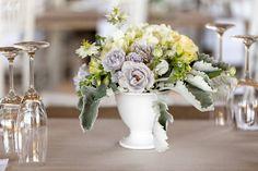 WEDDING | Andre & Leta FLOWERS | Garden Rose, dusty miller, nigella PHOTO | Niki M Photography