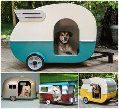 DIY Camper Dog House