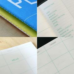 I'll def look into this for grad school - Planner M by Poketo, $21.00
