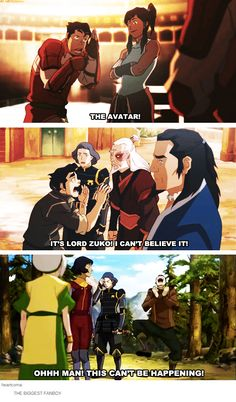Bolin: The biggest Fanboy Honestly I think they wrote him in as a comic relief AND as a character to reflect the fans reactions, questions, and comments.