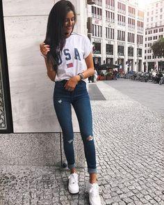 Fashion Mode, Teen Fashion, Fashion Outfits, Womens Fashion, Moda Fashion, College Outfits, Outfits For Teens, Casual Outfits, School Outfits