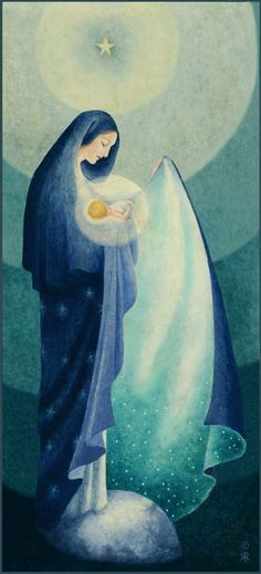 Our Lady of the Night by Sr. Pierre Marie Semler