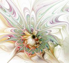 Whorled Bloom / Fractal art