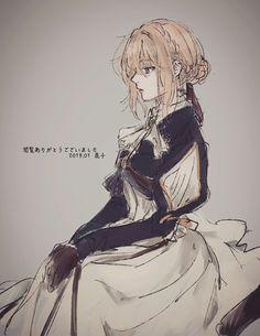 Fan Anime, Anime Manga, Anime Art, Violet Evergreen, Violet Evergarden Wallpaper, Iphone Wallpaper, Blonde Anime Girl, Violet Evergarden Anime, Some Beautiful Pictures