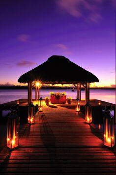 Wedding Pavilion at One & Only Le Saint Géran, Mauritius. Wow.