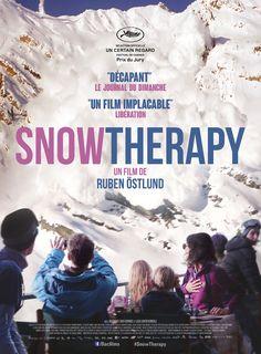 Snow Therapy est un film de Ruben Östlund avec Johannes Bah Kuhnke, Lisa Loven Kongsli. Synopsis : Une famille suédoise passe ensemble quelques précieux jours de vacances dans une station de sports d'hiver des Alpes françaises. Lors d'un déjeuner dans un restaurant de montagne, une avalanche vient tout bouleverser. Ebba, la mère, essaye de protéger leurs enfants, alors que Tomas, lui, a pris la fuite ne pensant qu'à sauver sa peau… http://www.allocine.fr/film/fichefilm_gen_cfilm=214103.html