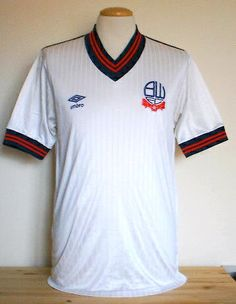 *New* Bolton 1985 umbro shirt, Bolton Wanders casino Soccer Kits, Football Kits, Football Uniforms, Football Jerseys, Top Online Casinos, Bolton Wanderers, Vintage Football Shirts, Football Fashion, Everton Fc