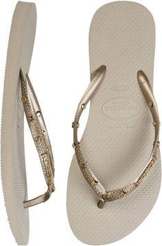 HAVIANAS SLIM HARDWARE FLIP FLOP > Womens > Footwear > Sandals | Swell.com