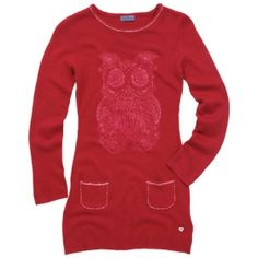 QUIRKY OWL SWEATER   Take off in wonderful rich autumnal shades with a striking, funky owl. Perfect for the free-spirited. Buy now for £34.95