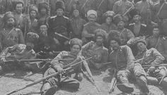 Terek Infantry of the Russian Civil War ~ White Army