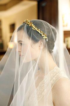 Photography by Belathee Photography / belathee.com, headpieces by Jennifer Behr / jenniferbehr.com