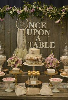 "Photo 2 of 42: Rustic, Bohemian Chic Dessert Table / Wedding ""Confetti Fair""   Catch My Party"